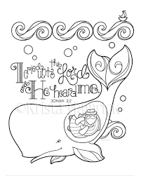 Best Of Jonah And The Whale Coloring Page 8 511 Bible Journaling
