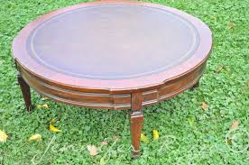 Diy Round Coffee Table Round Ottoman Coffee Table Ottoman Coffee Table Tufted Leather