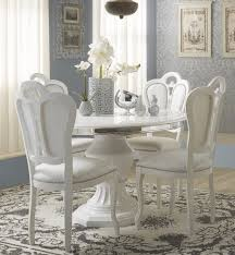 greta round dining table and 4 chairs