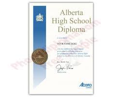 Canada Fake Secondary Design Diplomas Alberta