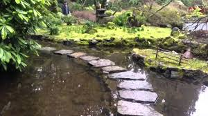 Beautiful Butchards Gardens Ponds and waterfalls mossy Japanese Garden in  Victoria BC Canada Part2 - YouTube
