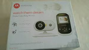 motorola watch them dream. motorola digital video baby monitor, brand new, watch them dream d