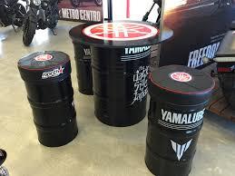 drum furniture. custom made oil drum furniture designed for northstar yamaha t
