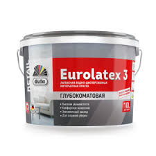 Водно-дисперсионная <b>краска Dufa Retail</b> Eurolatex 3 (Дюфа ...