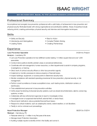 Best Asset Protection Manager Resumes Resumehelp