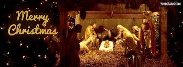 merry christmas nativity facebook cover. Modren Nativity Merry Christmas Birth Of Jesus Facebook Cover Photo In Nativity A
