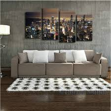 chicago skyline giant wall art home decor hd canvas print chicago