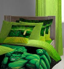 Image of: Incredible Hulk Bedding Set
