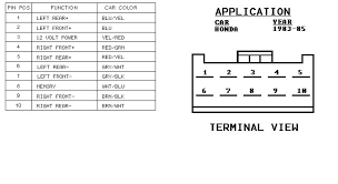 honda accord stereo wiring diagram image honda pioneer wiring diagram wiring diagram schematics on 2010 honda accord stereo wiring diagram