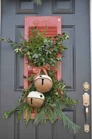 Décoration De Noël Originale Pour La Porte Du0027entrée