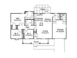 Briarview Arts And Crafts Home Plan D    House Plans and MoreCountry House Plan First Floor   D    House Plans and More