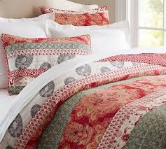 Claire Patchwork Quilt & Sham   Pottery Barn & Claire Patchwork Quilt & Sham Adamdwight.com