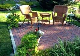 square patio designs. Landscaping Ideas Around Patio Square Best For Brick I W Designs