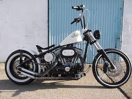 harley davidson sportster 1200cc old school bobber chopper