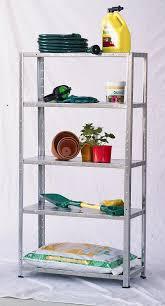 summit galvanised 5 shelf system