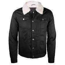 ameritac men s sherpa lined fleece twill jacket on up outerwear 0