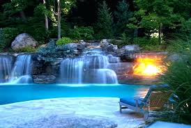 inground pool waterfalls. Inground Pool Waterfalls Waterfall Slide Rock Swimming Kits
