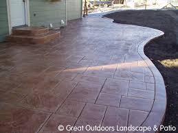 impressive concrete patio shapes exactly minimalist article
