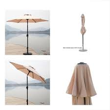 c hopetree 7 5 outdoor patio umbrella small market table with push