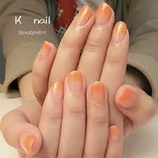 オールシーズンハンドシンプルグラデーションラメ Beautysalon K
