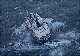 Метод расхождения судна с центром тропического циклона Судно в тропическом циклоне