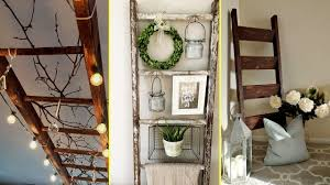 DIY Farmhouse style Rustic Ladder Decor Ideas 2017-Home decor and  organisation