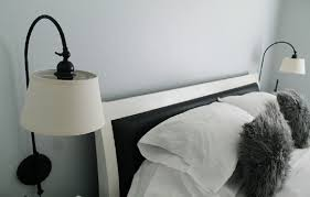 wall lighting for bedroom. awesome collection wall mounted lights for bedroom furry premium material black and white perfect combination right lighting g