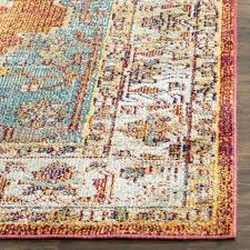 home orange light blue area rug reviews throughout and designs mistana hillsby