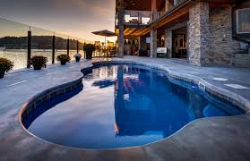 take a look at the pictures of these swimming pools and see the potential in your yard
