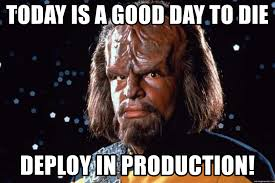 Image result for deploy production meme