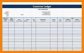 General Ledger Template Printable 12 Free General Ledger Template Quick Askips