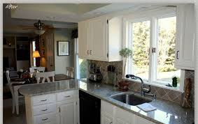 Repainting Oak Kitchen Cabinets Painting Oak Kitchen Cabinets White All Home Designs Best