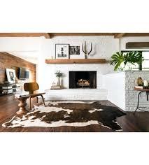 skin rugs nz artistic cow hide rug brown dash faux cowhide