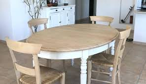 Table A Manger Ronde Blanche Table A Manger 2 Chaises En Pin Massif