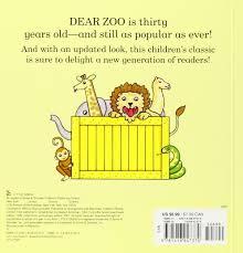 dear zoo a lift the flap book rod cbell 8601400161784 amazon books