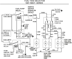 fuel tank selector valve ford truck enthusiasts forums the wiring