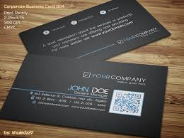 company message on business card. Plain Card Corporate Business Card 004 By Khaledzz9  To Company Message On N