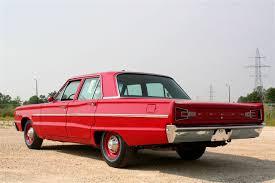 1966 dodge hemi coronet deluxe 4 door rear 3 4 45419