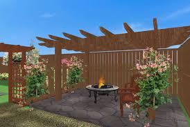 Fence Pergola Designs Backyard Fence Ideas 40 Elegant Backyard Pergola Home