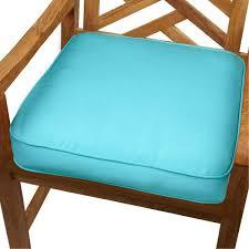 outdoor chair cushions sunbrella fabric blue indoor outdoor inch chair cushion with blue indoor outdoor inch