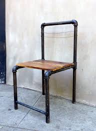 industrial pipe furniture. Contemporary Industrial Pipe Chair To Industrial Furniture O