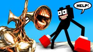 SIRENHEAD vs CARTOON CAT <b>MINECRAFT ANIMATION</b> - YouTube