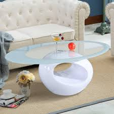 oval office coffee table. Oval Office Coffee Table. OFFICE MORE Glass Table Living Room Furniture White R