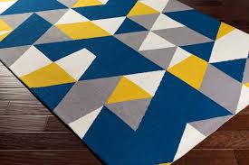 amazing blue and yellow area rugs with artistic weavers joan joan 6087 fulton navy gray rug idea 27