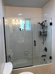 san go bathtub glass installation