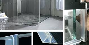 replace shower door when to replace shower door sweeps how to replace glass shower door bottom
