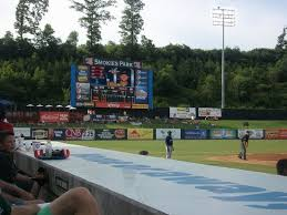 Scoreboard At The Park Picture Of Tennessee Smokies Minor