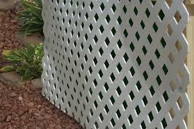 Vinyl lattice fence panels Heavy Duty Vinyl Lattice Semi Private Fence Avpetclinicinfo Vinyl Lattice 02 White Modular Vinyl Lattice Fence Panel