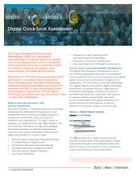 Booz Allen Hamilton Org Chart Digital Qla Fact Sheet