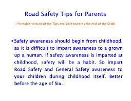 highway safety road safety tips for parents and children road safety